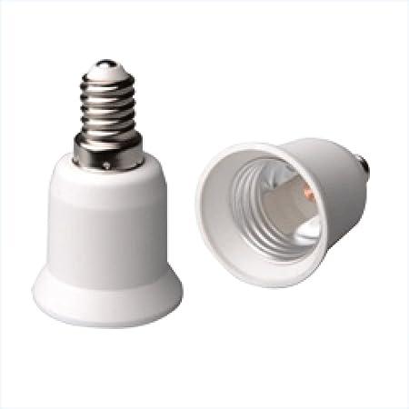 FWS ADATTATORE PORTALAMPADA CONVERTITORE LAMPADE ATTACCO DA E14 A E27