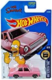 Hot Wheels 2017 HW Screen Time The Simpsons Family Car 112 365 - Pink