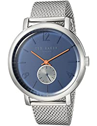 Men's 'OLIVER' Quartz Stainless Steel Casual Watch, Color Silver-Toned (Model: TE15063006)