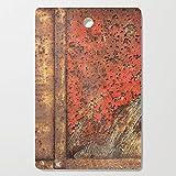 Society6 Wooden Cutting Board, Rectangular, Metal Frontier by fernandovieira