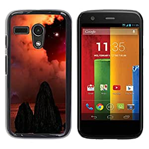 Stuss Case / Funda Carcasa protectora - The Dull Deserted Tombs - Motorola Moto G 1 1ST Gen