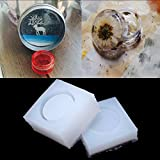 Amrka DIY Round Silicone Storage Box Mold Resin Mould Jewelry Casting Craft Handmade
