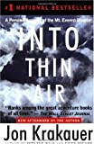 """Into Thin Air - A Personal Account of the Mt. Everest Disaster"" av Jon Krakauer"