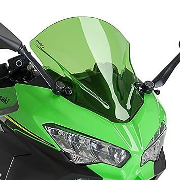 Cupula Racing Puig Kawasaki Ninja 400 2018 verde