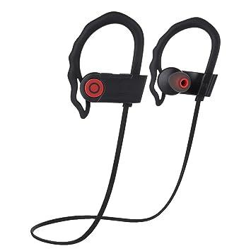 Joyeer Auricular inalámbrico Bluetooth respuesta / colgar llamada deportiva corriendo audífono de prueba de sudor audífono auricular de reducción de ruido ...