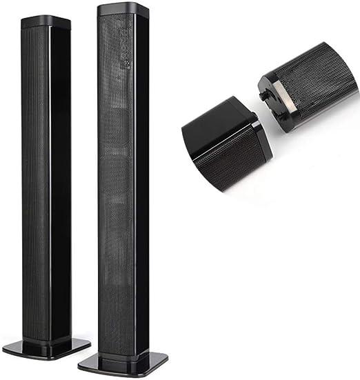 QOUP TV Barra de Sonido, 40W de Potencia Auxiliar TF USB de Sonido ...