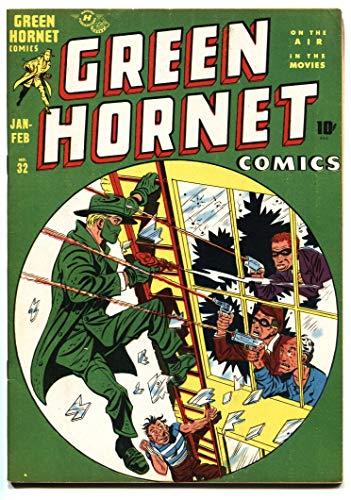 Green Hornet #32 1948 Bob Powell - Blonde Bomber - High Grade