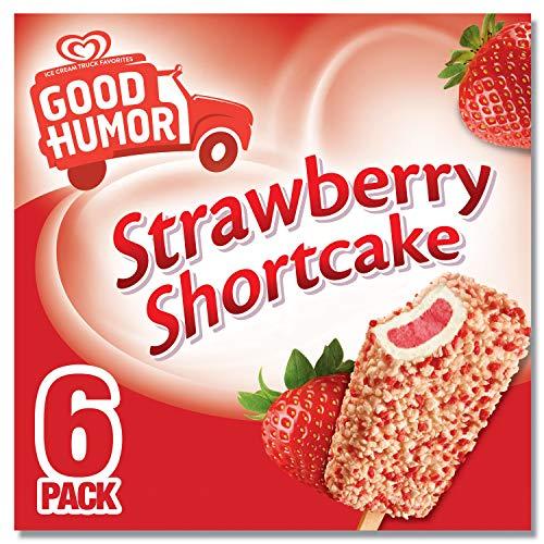 Good Humor Ice Cream & Frozen Desserts Bar Strawberry Shortcake 6 ct
