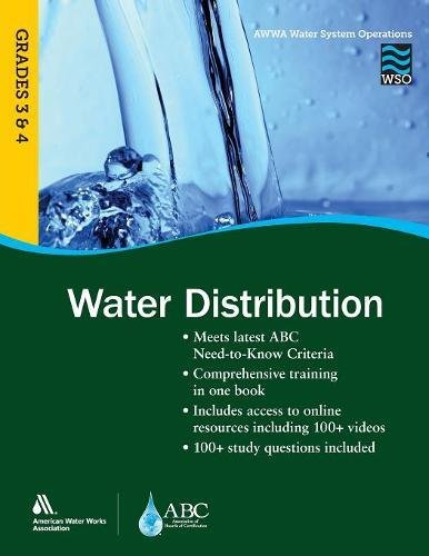 Water Distribution, Grades 3 & 4WSO: AWWA Water System Operations WSO (AWWA's Water System Operations)
