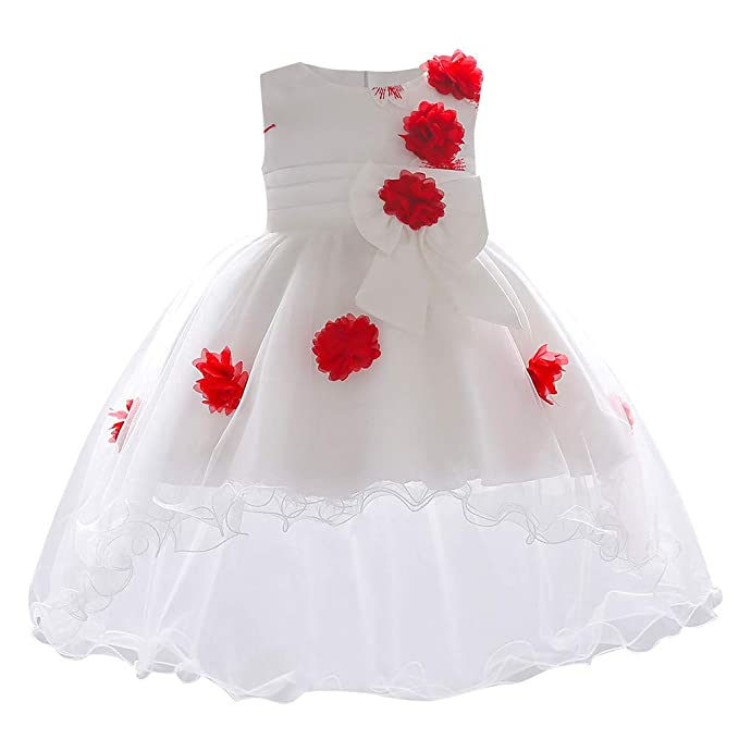 da05465d5 Vestido de Fiesta Boda para Bebé Niñas Sin Largas Otoño 2018 Moda PAOLIAN  Ropa para Bebé Niñas Costura ...
