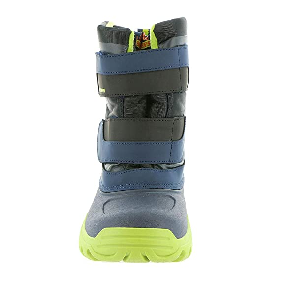 ed4b6c3ef2d2 Skechers High Slopes Boots Boys Waterproof Winter Snow Rain Cold Shoes  96111L  Amazon.co.uk  Shoes   Bags