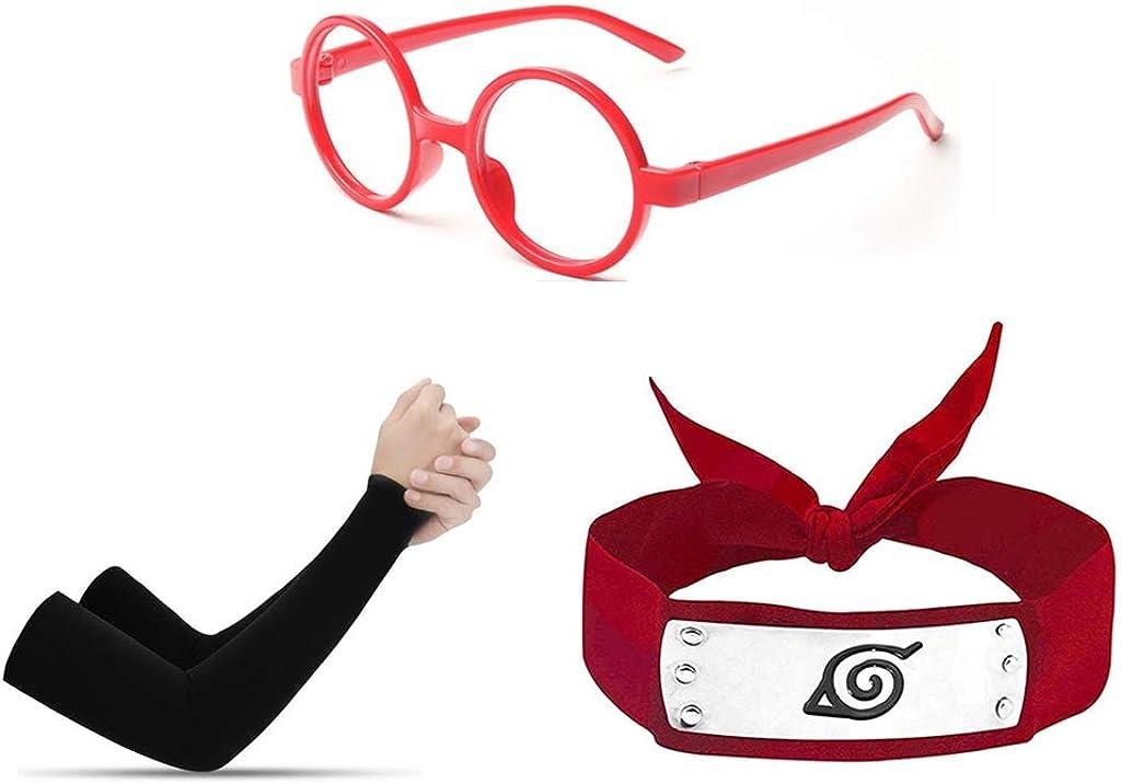 mujeres y fan de anime I3C Anime Diadema Negra Konoha de Naruto,Diadema Deportiva Disfraz Accesorios Naruto Ninja Unisex para hombres