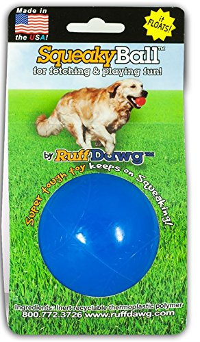 Ruff Dawg Squeaky Ball Toy, Assorted (Ball Launcher Toss Toys)