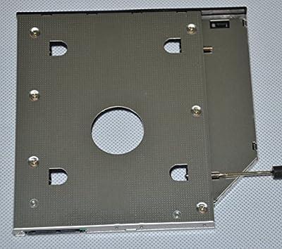 Deyoung 2nd HDD SSD Caddy Adapter for Dell Latitude E6420 E6520 E6320 E6430 E6530 E6330 by by third-factory