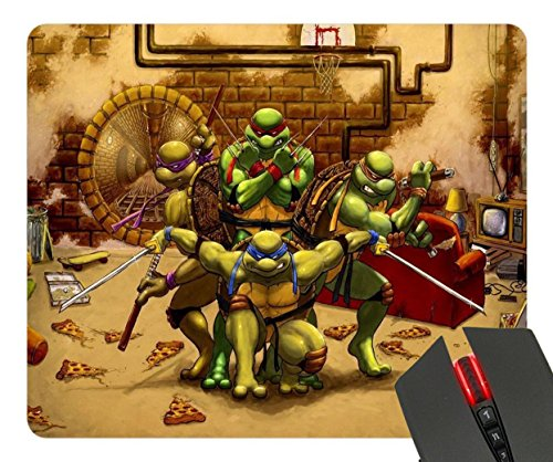 Fight Pizza Ninja Turtles Custom Design Cool Gaming Mousepd Mouse Pad Mat