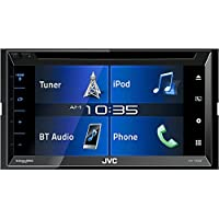 JVC KW-V330BT 6.8 Double DIN Bluetooth In-Dash DVD/CD/AM/FM/Digital Media Car Stereo with SiriusXM