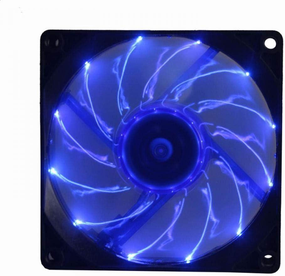 1Pcs Gdstime 90mm LED Light 3Pin 92x25mm PC CPU Computer Case Cooling Cooler Fan