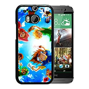 For HTC ONE M8,Digimon Desktop Black Protective Case For HTC ONE M8