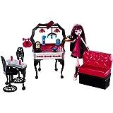 Mattel Y7719 - Monster High Draculaura e Il Suo Ristorante Mostruoso