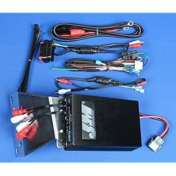 JMAA-4000H-UNV J/&M Audio 400 Watt 4 Channel Universal Amplifier Kit for 1998-2013 Harley-Davidson models