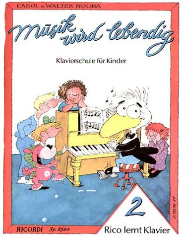 Rico Lernt Klavier 2. Klavier