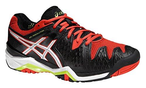 ASICS - Gel-resolution 6, Zapatillas de Tenis hombre Negro