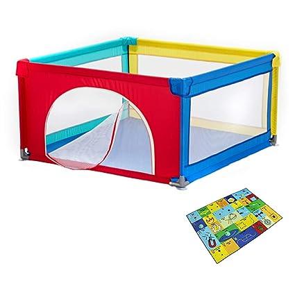 Parques de juegos Parque Infantil para bebés con colchoneta ...