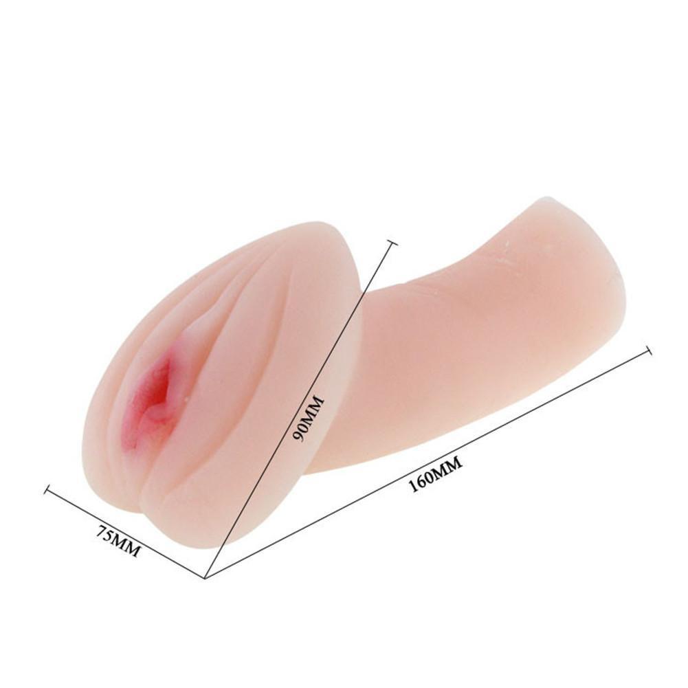 LY-JFSZ Masturbación Masculina Vagina Vibrante Diapping Simulación 3D Vagina Masculina Pocket Pussy Carne Color 5ecd57
