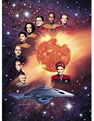 Star Trek Voyager Cast 12 x 16 Inches Lithograph/Poster