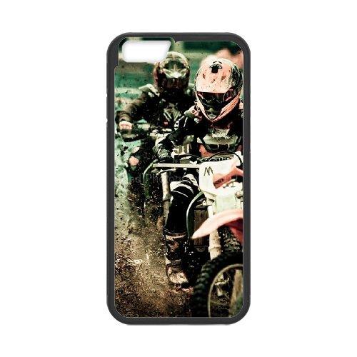 Motocross 003 coque iPhone 6 Plus 5.5 Inch Housse téléphone Noir de couverture de cas coque EOKXLKNBC24030