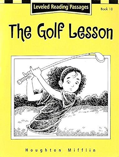Download Houghton Mifflin Reading: The Nation's Choice: Guided Reading Level 4 The Golf Lesson PDF