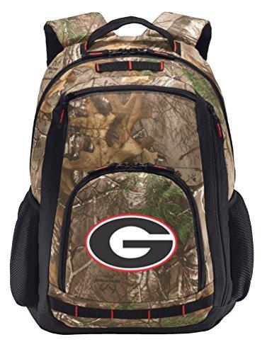 University of Georgia Camo Backpack Realtree Georgia Bulldogs Backpacks - Laptop Section!