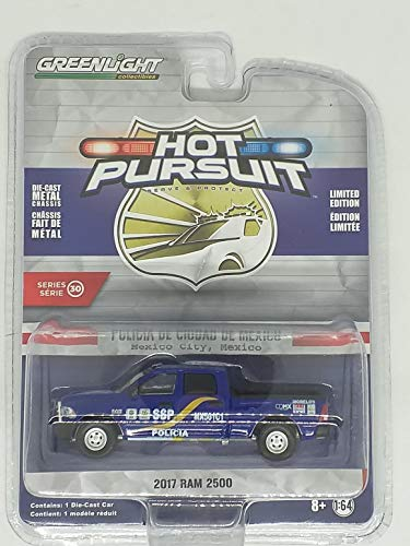 Hot Pursuit Series 30, Set of 6 Police Cars 1/64 Diecast Models by Greenlight 42870