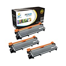 Catch Supplies Replacement TN660 High Yield Black Toner Cartridge 3 Pack |2,600 yield| Replaces Brother TN-660, compatible with the HL-L2300,L2320,L2340,L2360, DCP-L2500,L2520, MFC-L2700,L2720,L2740