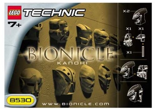 LEGO Bionicle 8530 Kanohi Mask Kit