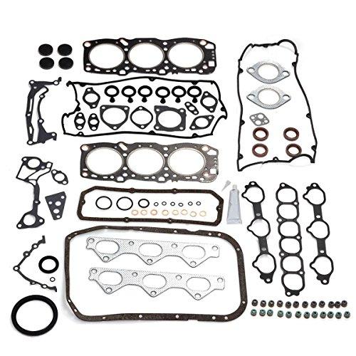 PartsSquare Cylinder Gasket Head Set for Mitsubishi 3000GT & VR4 3.0L 6G72 Gasket (Mitsubishi 3000gt Engine)