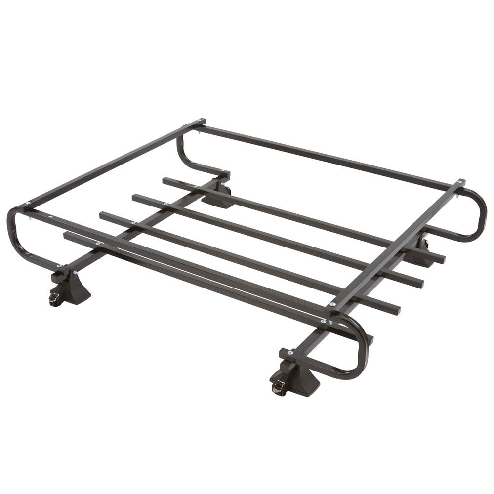 Rage Powersports RB-622 4-Door Vehicle Roof Basket Carrier (with Rain Gutter-Mount Attachment)