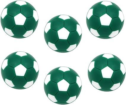 Toygogo 6 Unids Pelotas para Futbolín,32mm, Verde: Amazon.es: Juguetes y juegos