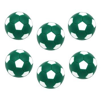CUTICATE 6 Unidades Bolas de Futbolín de Plástico 32mm Juego ...