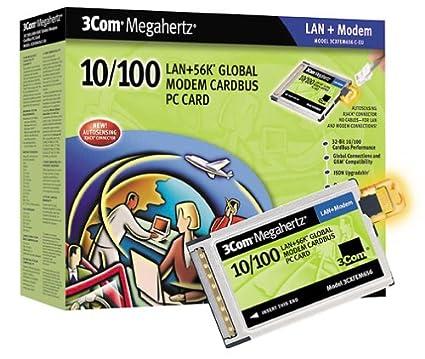 3COM MEGAHERTZ 10-100 LAN+56K GLOBAL MODEM CARDBUS DRIVERS FOR MAC DOWNLOAD