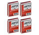 700c tires and rims - Jantex Velox Tubular Tire Gluing Tape - Designed for Road CX 700c Tires - 4 PACK