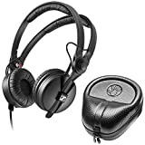 Sennheiser HD 25 Professional DJ Headphone with SLAPPA SL-HP-07 HardBody PRO Case
