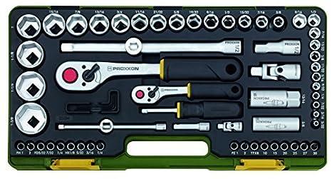 Proxxon 23294 Steckschlüsselsatz Für Zöllige Schraubengrößen 65