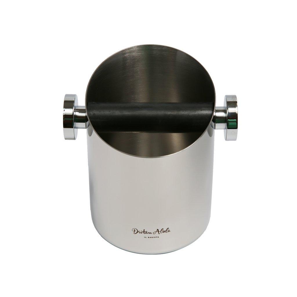 Dritan Alsela profesional Bote para tirar los posos del café 10,5cm Motta