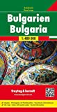 Bulgaria 1:400,000 road map FB (Freytag & Berndt Road Map) (English and German Edition)