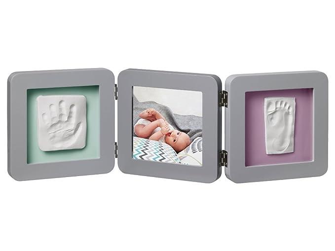 150 opinioni per Baby Art- 34120139- Double print frame- Portafoto con calco della manina o del