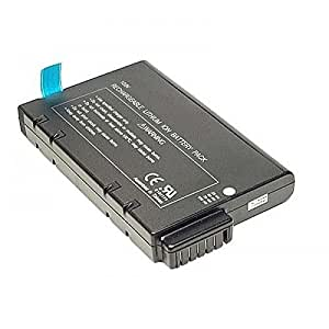 Batería para tipo SB200L, 9celdas, LiIon, Smart, 10.8V, 6600mAh, color negro