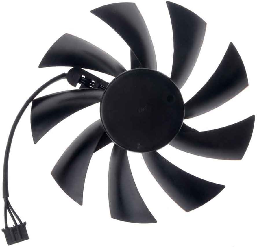 PLA09215B12H Graphics Card Fan 87mm 12V 0.55A 4-Pin Cooling Fan for N560 570 580GTX HD6870 N550GTX-Ti R7770 N460GTS N550GTX R6770 N450GTS