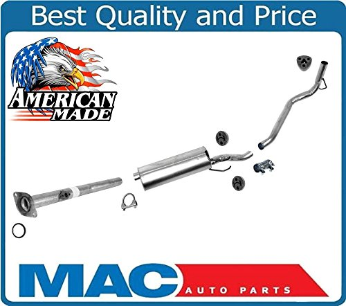 For 99-00 Toyota Tacoma With California Emissions 2.4 2.7 Muffler Exhaust System