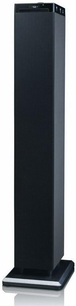 New Majestic TS-92 CD BT USB AX 60W Negro Altavoz - Altavoces (1.0 Canales, Inalámbrico y alámbrico, Bluetooth/NFC/USB/RCA/3.5mm, 60 W, 20-20000 Hz, Negro)